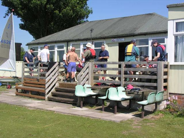 our clubhouse on a sunny day
