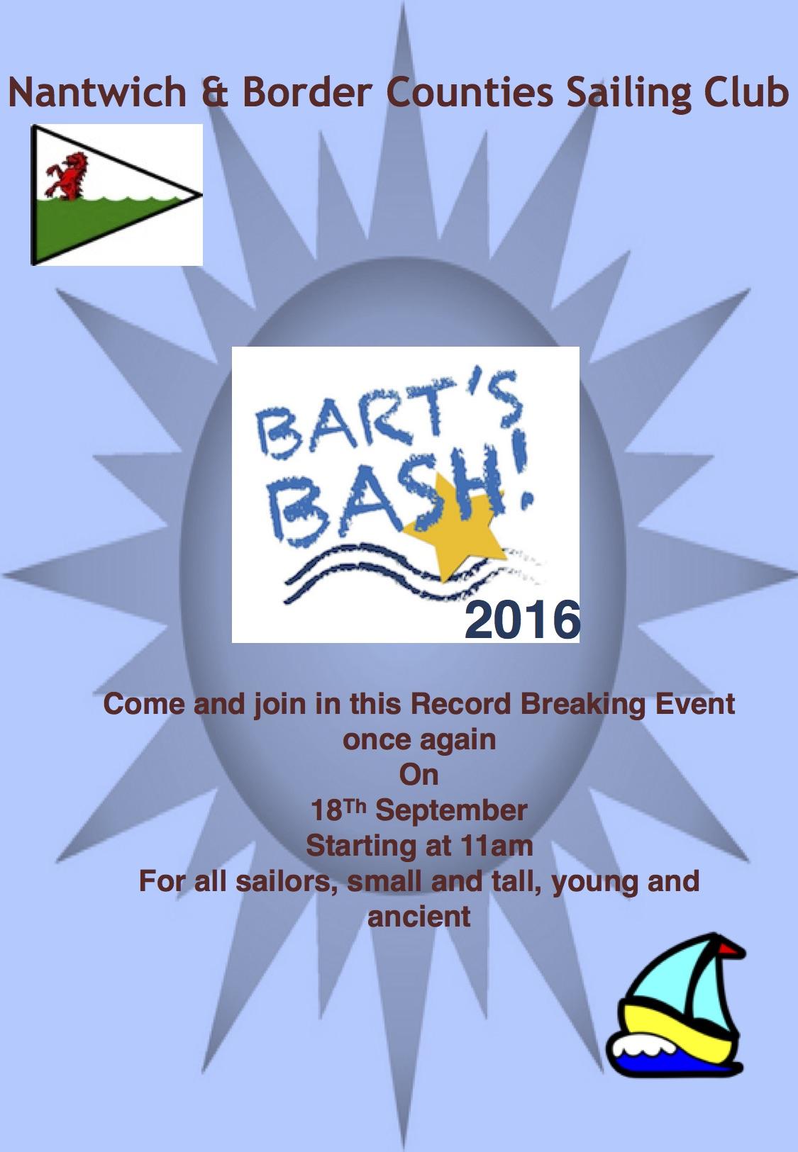Barts Bash Invite 2016